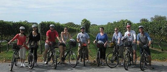 North Fork Bicycle Tours: Another beautiful day!!!