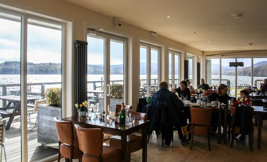 Venachar Lochside: Sunday brunch wind down