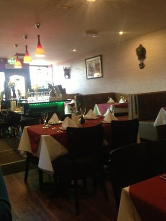 Gurkha Bar and Restaurant: inside