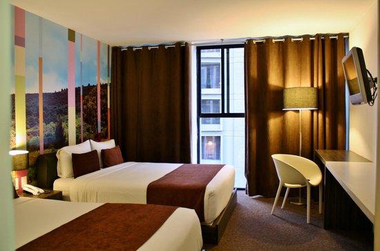 Hotel Del Angel: Habitación de lujo 2 camas matrimoniales