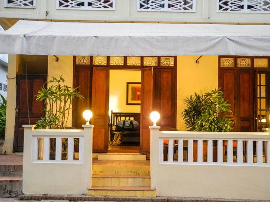 The Apsara: Front view of our room