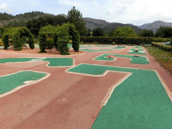 Parc de Canet: Minigolfplatz