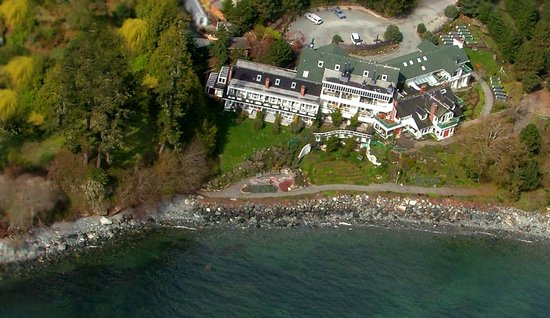 Sooke Harbour House Resort Hotel: Our location