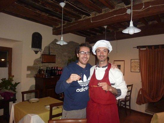 Agriturismo Ca Montioni: L'ULTIMA BEVUTA...