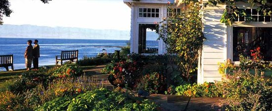 Sooke Harbour House Resort Hotel: Oceanfront