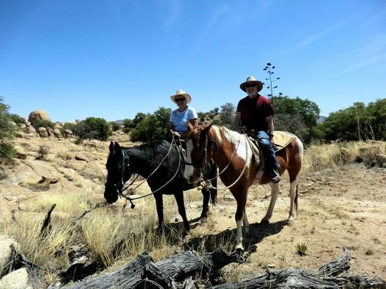 Triangle T Guest Ranch: Trail Ride