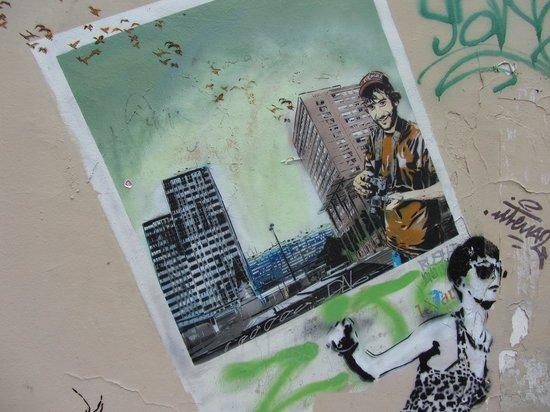 Meet My Paris : Un exemple des oeuvres qu'on peut voir pendant la visite