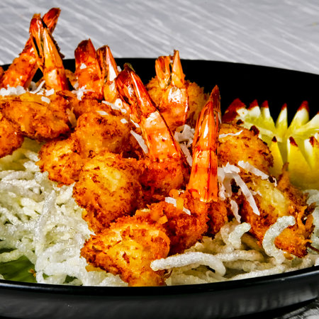 The BEST crunchy coconut shrimp! - Picture of Haleiwa Joe's, Kaneohe ...