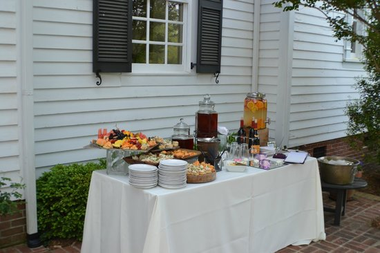 Stone Table: Appetizers on the Patio