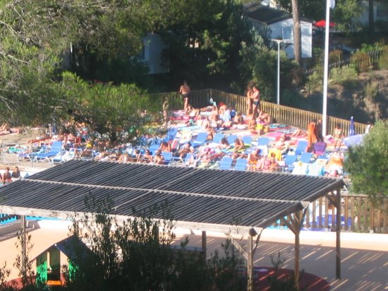 Holiday Green Resort & Spa: Une vue du camping