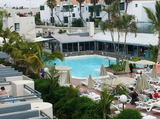 Pool area - view from sun terrace - Picture of Eden ...