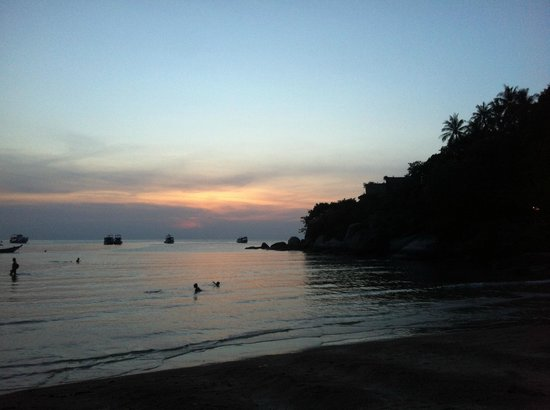 Pinnacle Koh Tao Resort: Sunset