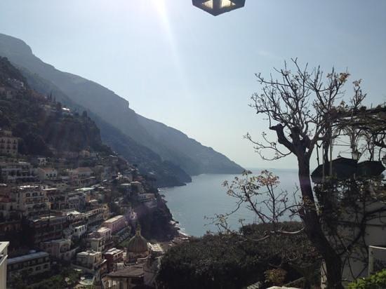 Hotel Poseidon: vista dalla terrazza