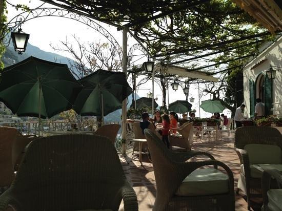 Hotel Poseidon: la terrazza