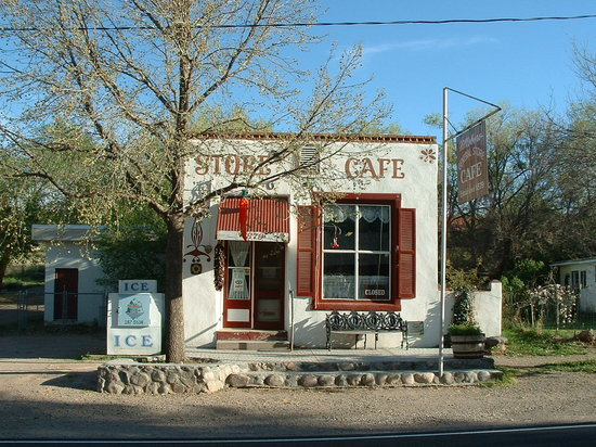 Hillsboro, نيو مكسيكو: General Store Exterior