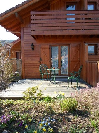 "Chalet l'Epinette : Terrasse Privative ""Les Myrtilles"""
