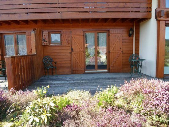 "Chalet l'Epinette : Terrasse Privative ""Les Roses"""