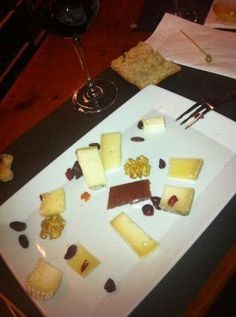 Bodega Azor: plateau de fromage