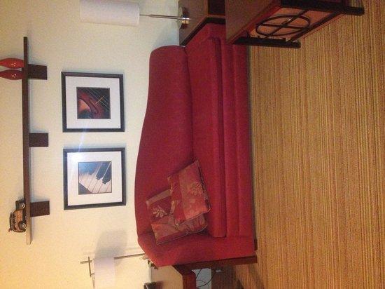 Residence Inn Gainesville I-75: Living room