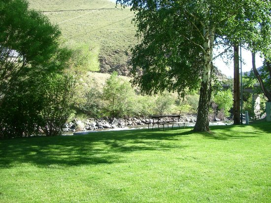 Riverside RV Park: View from RV Sites #4 and #5
