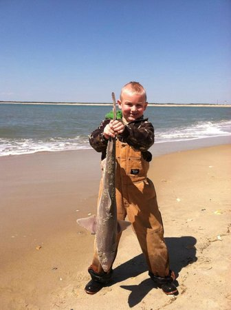 Hatteras Island Inn Buxton: A proud catch!