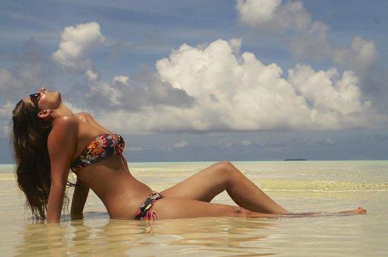 Bodufinolhu Island: Enjoying the sun in winter