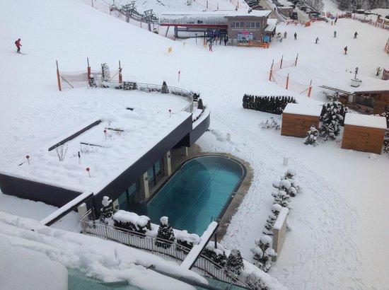 Sonnhof Alpendorf: uitzicht vanaf de kamer