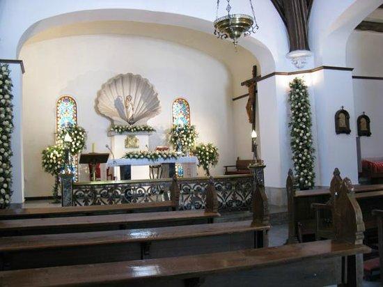 Isla de la Toja, Ισπανία: Altar de la ermita de La Toja
