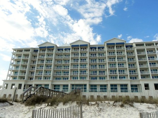 Margaritaville Beach Hotel: From the beach