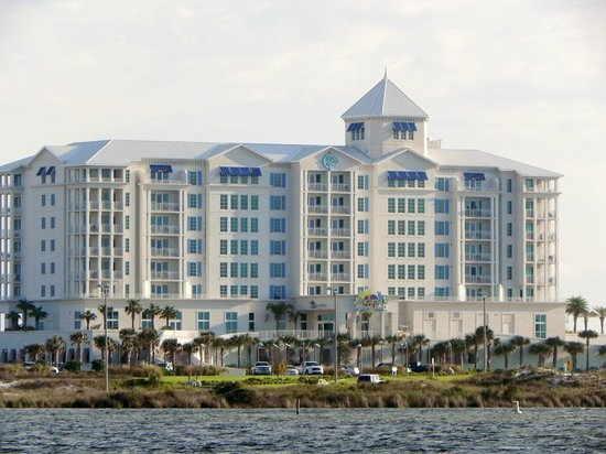 Margaritaville Beach Hotel: Hotel from the bay