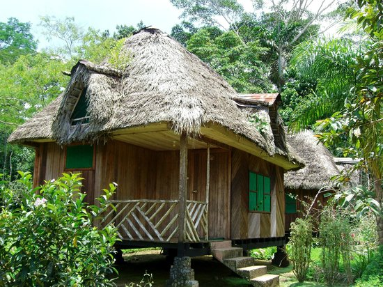 Suchipakari Amazon Rainforest Ecolodge: Matrimonial Private Rustic Bungalow