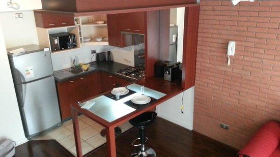 Apart Urbano Bellas Artes: Cocina completamente equipada