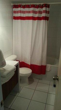 Apart Urbano Bellas Artes : Baño con bañera.