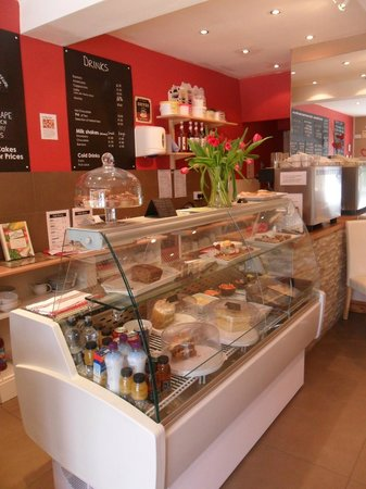 Cafe Divine: We have a great selection of homemade cakes and biscuits