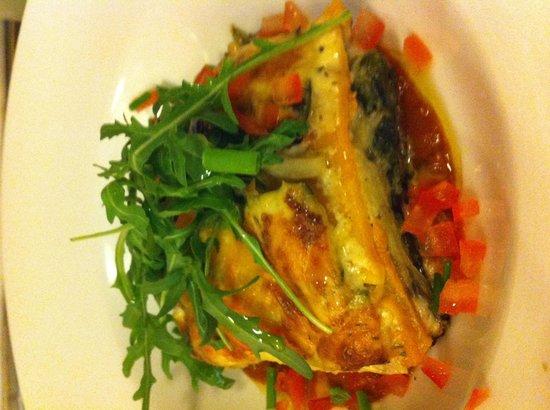Brasserie Klokspijs: Vegetarische lasagne