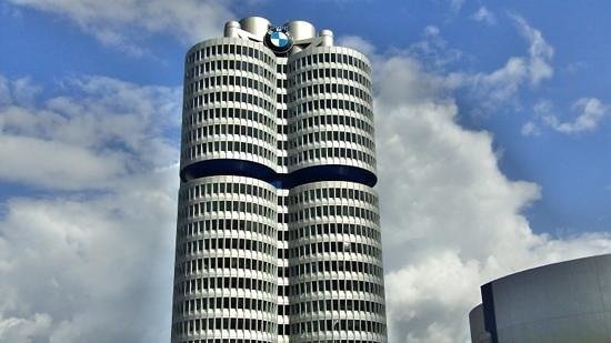 City Sightseeing Munich : BMW tower.