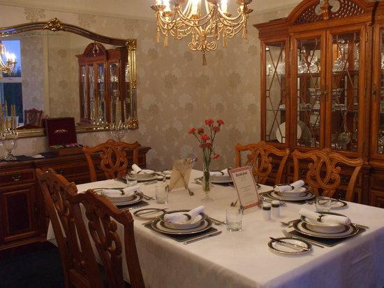 Graeanfryn Farm B&B: Guest Dining Room