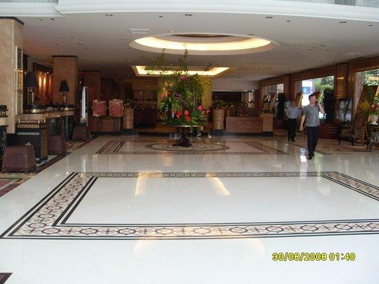 Tibet Hotel: reception