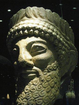 Musée d'art cycladique : buste