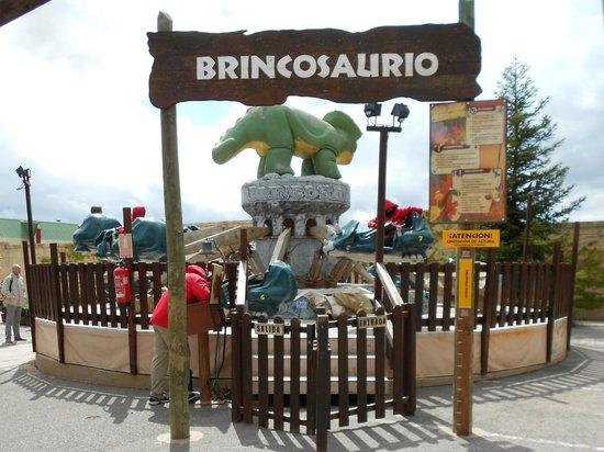Teruel, España: BRINCOSAURIO