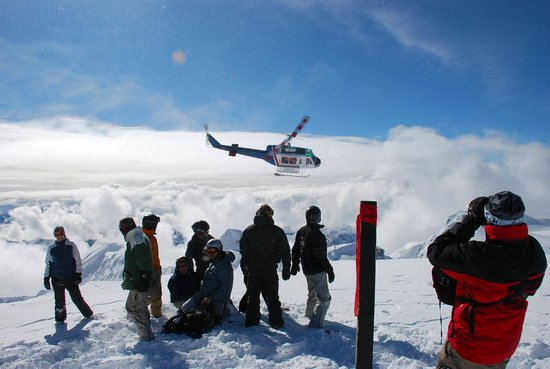 Whistler Heli-Skiing : P: Neil Brown
