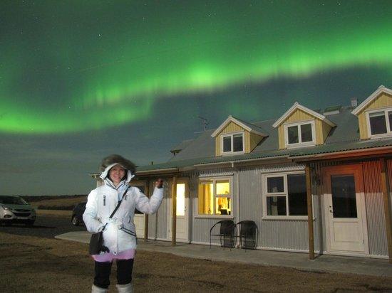 Hotel Laekur: My Northern Lights moments