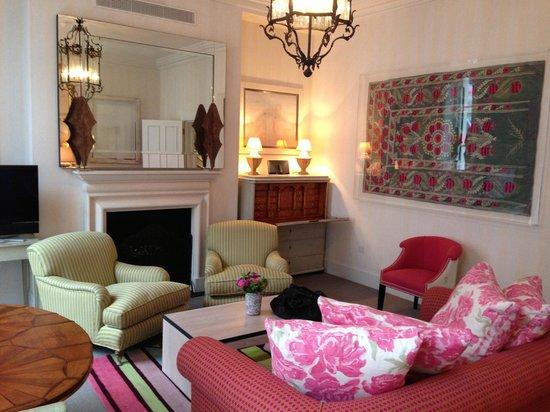 Haymarket Hotel: One bedroom suite