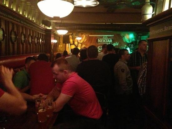 Mac Tire Pub: Add a caption
