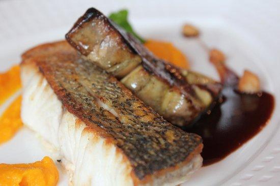 La Grillade Gourmande : Fish with foie gras