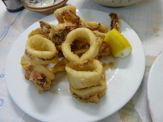 Meropi: calamars