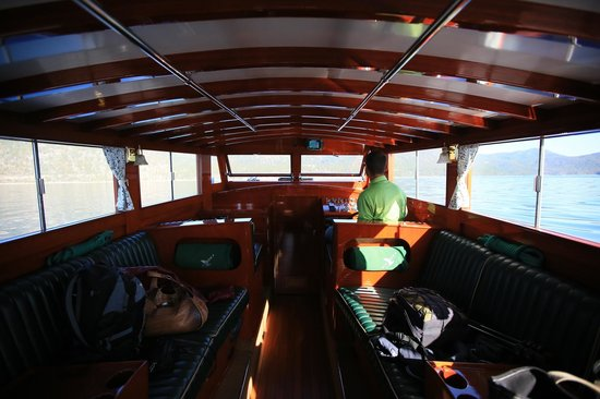 Grand Tahoe Charters, Wild Goose II-Boat Tours: The interior