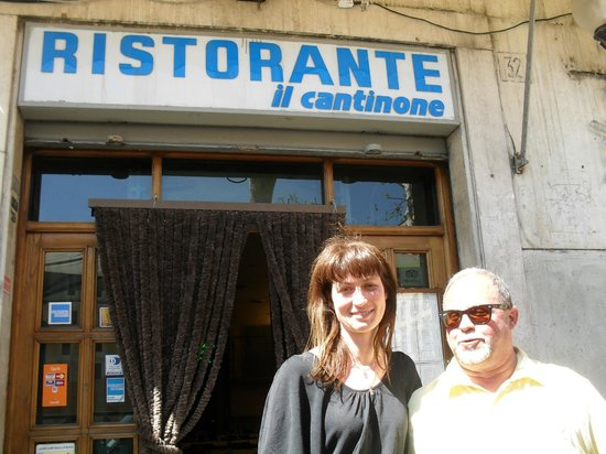 Il Cantinone : the Owner and I