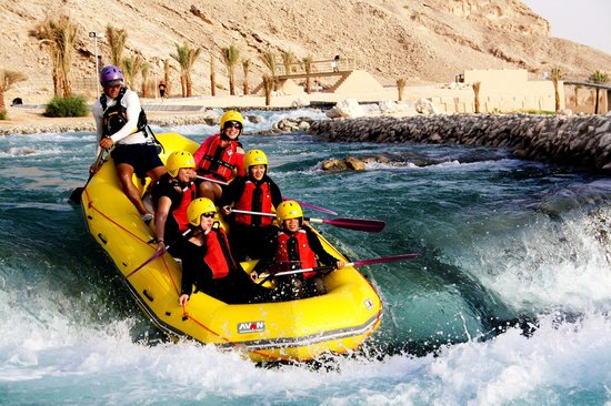 Al Ain, United Arab Emirates: Rafting Fun!