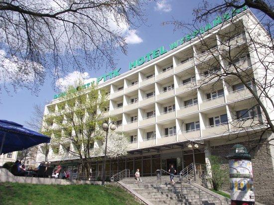Hotel Wyspianski: Front of Hotel
